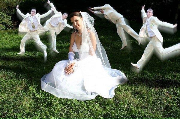 Приметы порвать свадебное фото