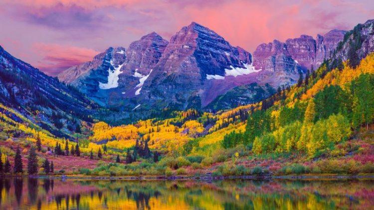 Как ярко осень раскрашивает мир: 35 фото