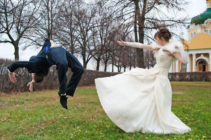Забавные свадебные фото, попавшие в сеть
