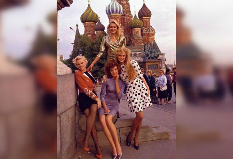 советские девушки