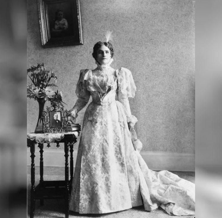 Ида Сакстон Мак-Кинли первая леди США