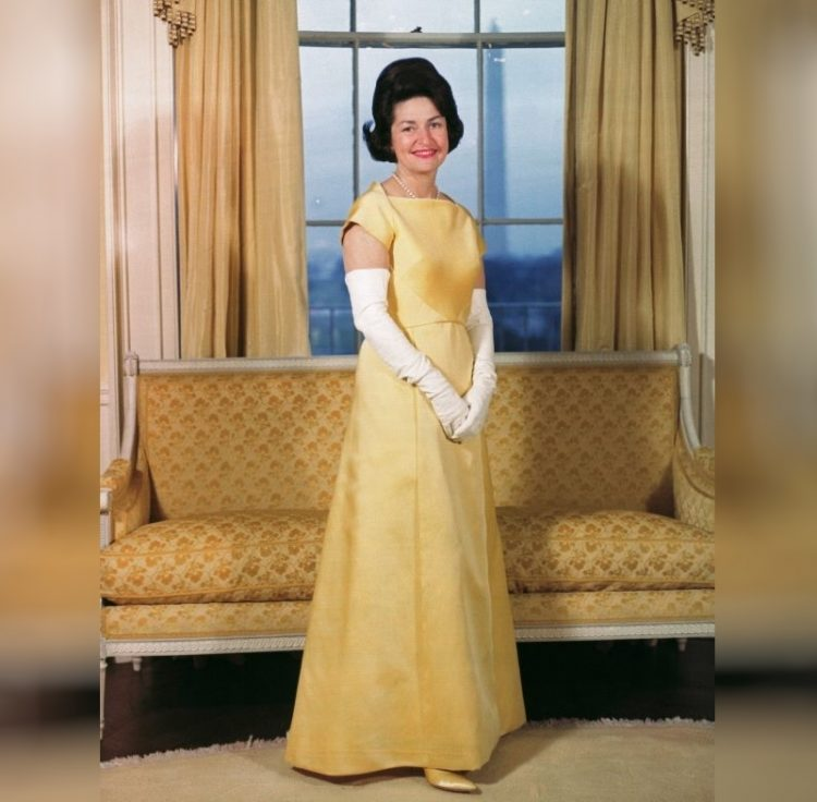 Леди Берд Джонсон первая леди США