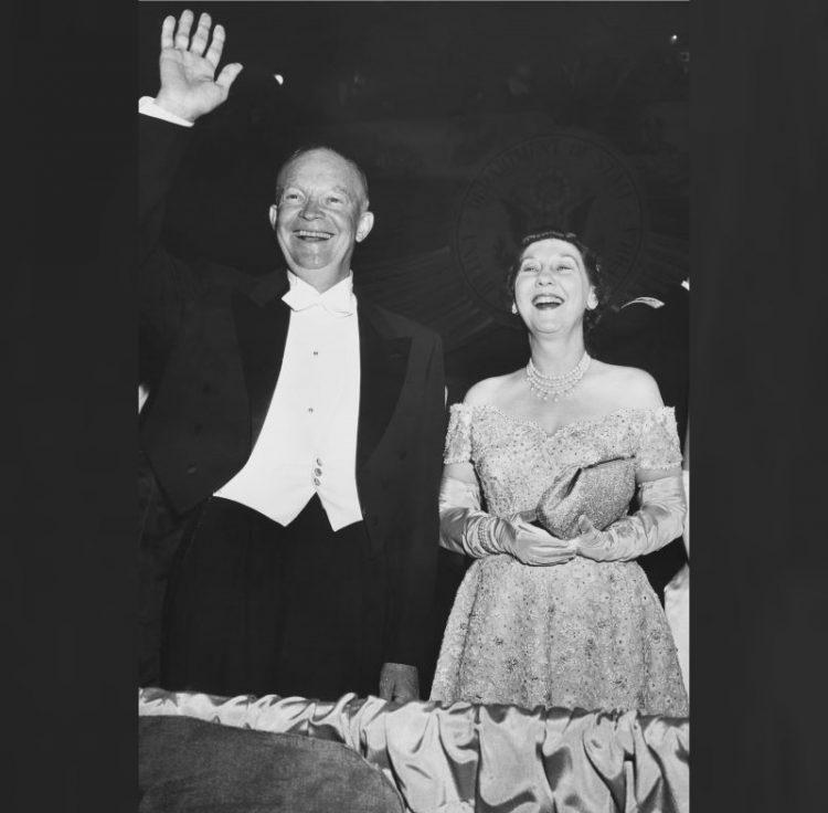 Мейми Эйзенхауэр первая леди США