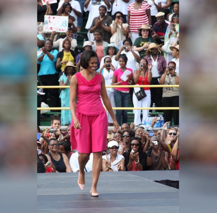 Мишель Обама первая леди США