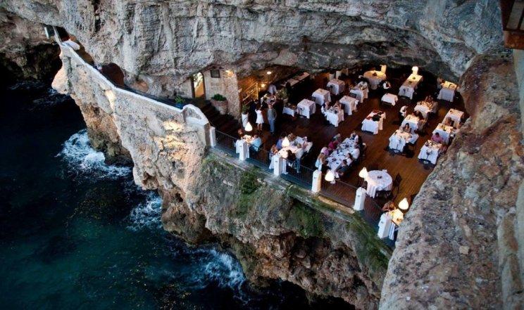 Необычные рестораны мира, которые вас удивят