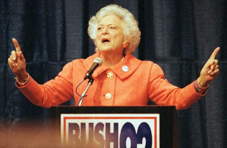 Барбара Буш первая леди США