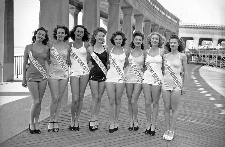 конкурсы красоты прошлого века