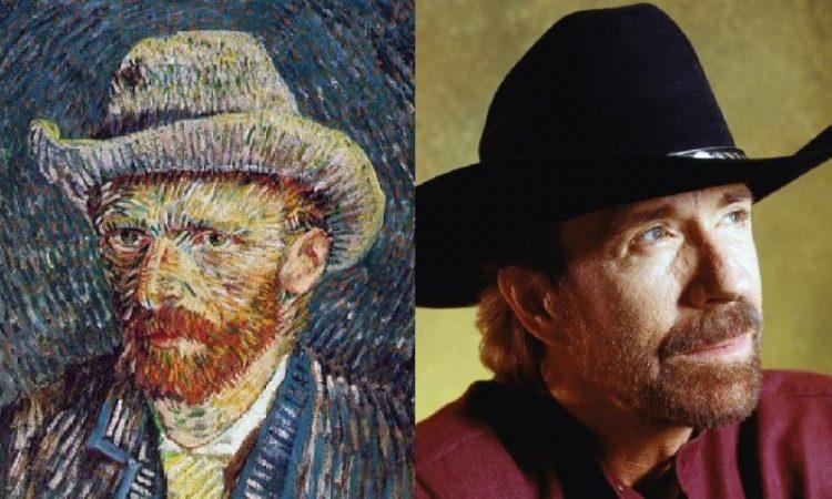 Vincent van Gogh_Chuck Norris