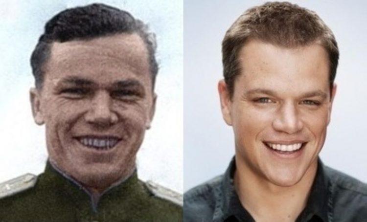 Ivan Kozhedub_Matt Damon
