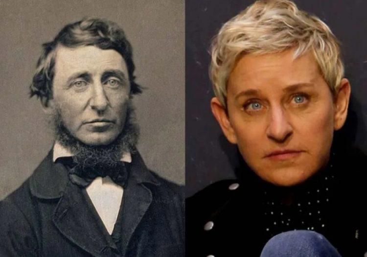Writer Henry David Thoreau_Ellen Degeneres